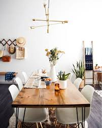 dining room table lighting ideas. new darlings dining room midcentury interior style cowhide rug table lighting ideas h