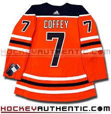 Pro Paul Oilers Authentic - Adidas Coffey Edmonton Nhl Jersey