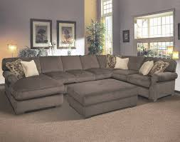 Sofas Center : Appealing Sectional Pit Sofa In Extra Wide Sofas inside Wide  Sectional Sofa (