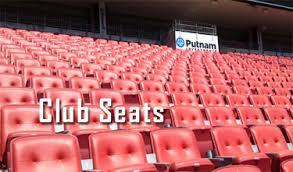 New England Patriots Club Seats