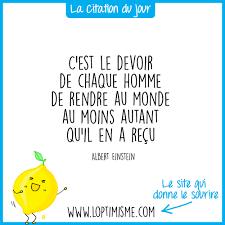 Citation Du Jour 6 Loptimisme