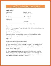 termination of rental agreement letter by tenant cover letter to tenant terminate lease photo landlord agreement medical forms