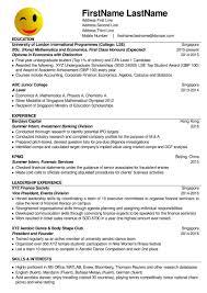Resume Cv Sample Singapore Blog2bexample Jobsxs Com