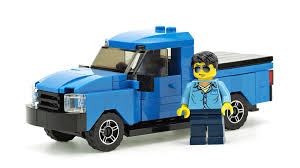 LEGO MOC-10878 Blue Pickup Truck (Town > City 2017) | Rebrickable ...