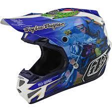 Troy Lee Designs Protection Troy Lee Designs 2019 Se4 Composite Helmet With Mips Malcolm Smith