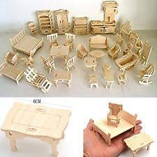 miniature wooden dollhouse furniture. wooden dollhouse furniture miniature lot kit set mini handmade girl accessories
