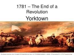 「Battle of Yorktown, 1781」の画像検索結果