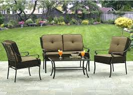 better homes and garden carter hills outdoor conversation set better homes and gardens bailey ridge 4