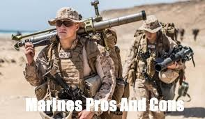 Marine Corps Pros And Cons Chart 13 Pros And Cons Of Joining The Marine Corps
