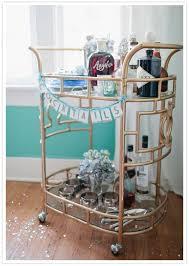 antique bar cart. Bar Cart Antique E