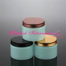bulk whole 150g pet packaging beauty s 150ml blue gl color aluminium cosmetics jars 5 3oz