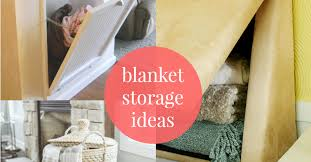 Remodelaholic | 5 Easy Ways to Store Blankets &  Adamdwight.com