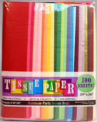 Buy Colored Tissue Paper