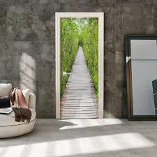photo wallpaper on the door the path of nature 3d wallpaper murals uk