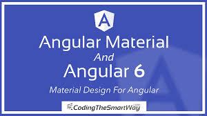 Material Design Lite Pdf Angular Material And Angular 6 Material Design For Angular