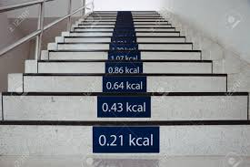 Office Stairs Signs Of Calories Burn On The Stairs At Office Healthy Stairway