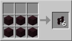 minecraft fence post recipe. The Wooden Fence Recipe Yields 3 Pieces, And Stone Nether Brick Yield 6. Minecraft Post H