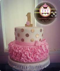 Pin By Shweta On 1st Birthday Nn Birthday Cake Girls Birthday
