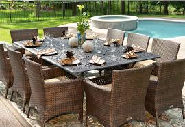 outdoor patio table sets patio dining sets a set of dining table on the