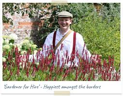 gardener for hire happiest amongst the borders