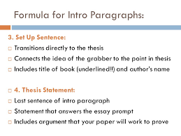 jane schaffer helps me write good ppt  formula for intro paragraphs