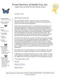 Annual Fundraising Letter Fresnosos