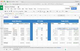Asset Allocation Spreadsheet 2018 Inventory Spreadsheet Spreadsheet