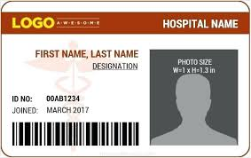 Photo Id Template Free Download Staff Id Card Template