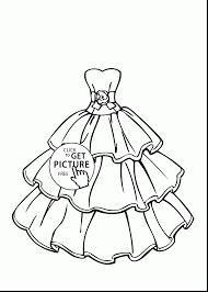 Small Picture marvelous girls wedding dresses coloring pages with wedding