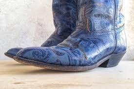 vintage blue paisley code west women s cowboy boots size  128270zoom