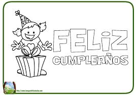 tarjetas de cumplea os para ni as 99 dibujos de feliz cumpleaños tarjetas para colorear y pintar
