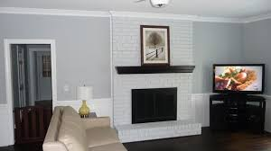best way to paint red brick fireplace grey or white wash what