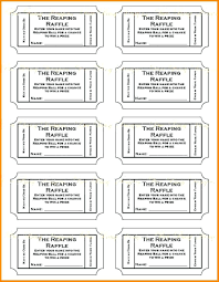 Food Ticket Template 359729550357 Free Ticket Template Printable