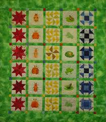 Kingston Heirloom Quilters & KHQ Group Quilt: The Bug Quilt, 2008 45