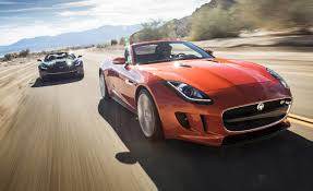 2014 Chevrolet Corvette Stingray Convertible vs. 2014 Jaguar F ...