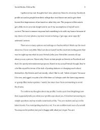 social media essay 3 social media