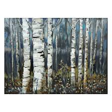 laila s ili142 11f birch trees canvas art lowe s canada intended for most recently released birch on birch tree wall art canada with explore photos of birch trees canvas wall art showing 3 of 15 photos