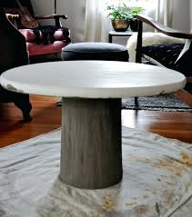 round concrete table making concrete table top red house west pedestal round mold best concrete table sealer