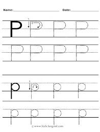 Letter P Tracing Worksheets For Preschoolers Worksheets for all ...