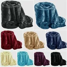 ens faux fur throws fleece blanket