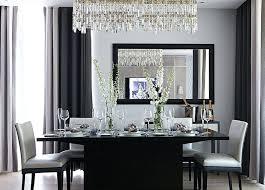 black dining room chandelier modern gray dining room with black dining table and modern dining chairs