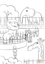 Zoo Animals Coloring Pages Free Zoo Animals Coloring Pages 378