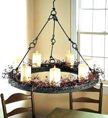 battery powered mini chandelier gazebo led solar for candle chan