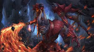 doom dota 2 game art wallpaper 4160