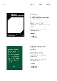 Mapping Graphic Design History In Switzerland Triest Verlag Programm Frühjahr 2017 By Triest Verlag Issuu