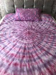 single tiedye bedding duvet cover sets