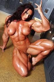 Free muscular naked women