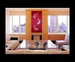 red koi fish painting chinese zen wall art style original art zen home decor japanese artwork on house wall art painting with red koi fish painting chinese zen wall art style original art zen