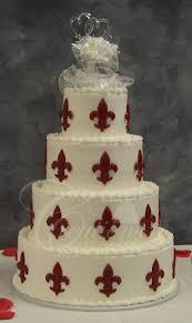 Fleur De Lis Wedding Cake Designs Simple Wedding Cakes Fleur De Lisa