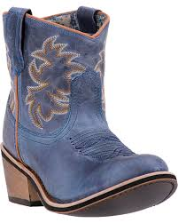 zoomed image laredo women s leather sapphrye western booties navy hi res